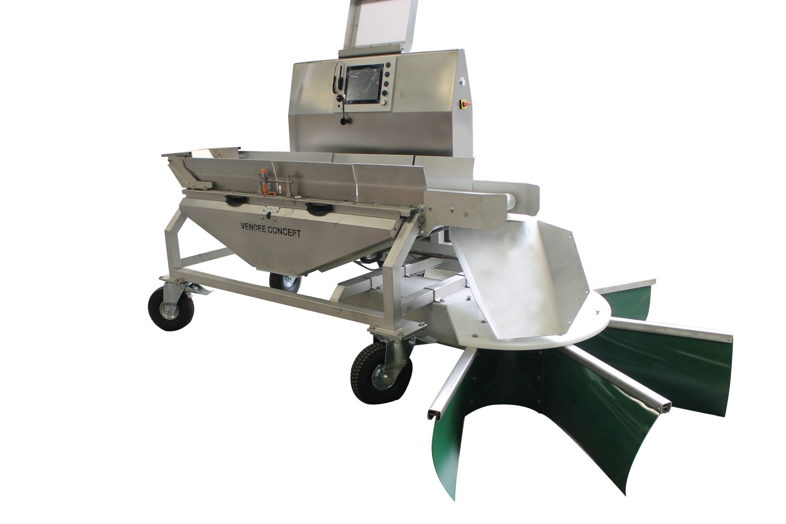 Checkweighers for live poultry