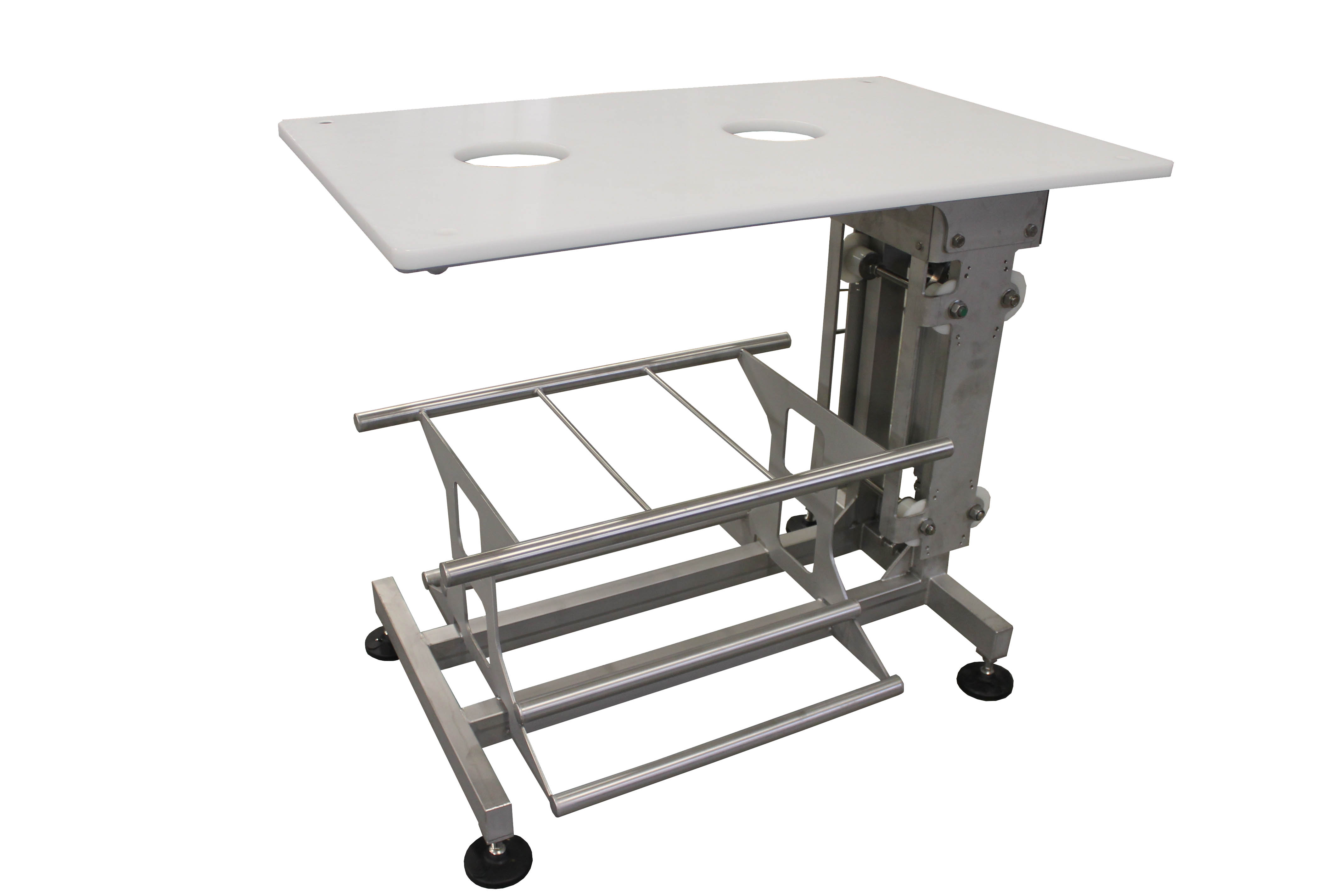 The stainless steel Work table